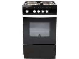 Электрическая плита De Luxe 5004.12э черная